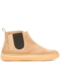 Leather Crown Chelsea Boots