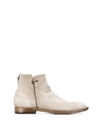 Silvano Sassetti Fringe Detail Ankle Boots