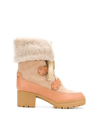 See by Chloe See By Chlo Lace Up Ankle Boots