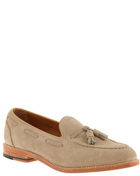 Suede tassel loafers medium 274897