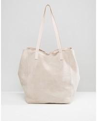 Suede slouch shopper bag medium 3708292