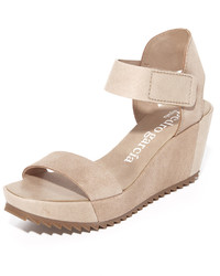 Pedro Garcia Francesca Wedge Sandals