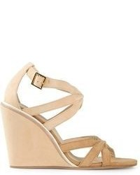 See by Chloe See By Chlo Strappy Wedge Sandal