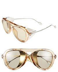 Gucci 51mm Aviator Sunglasses