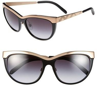 edd195ec44 ... Burberry 57mm Cat Eye Sunglasses ...
