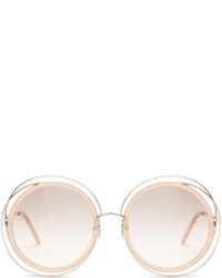 Chloé Chlo Carlina Round Frame Sunglasses