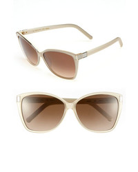Chloé Chloe Hoya 59mm Sunglasses Brown Beige One Size