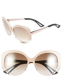 Christian Dior Dior Extase 1 58mm Sunglasses Olive Rose Gold