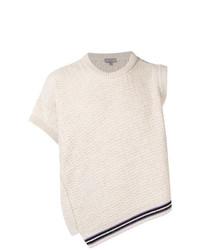 Lanvin Asymmetric Knit Sweater