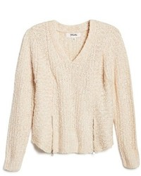 Girls Maddie V Neck Sweater