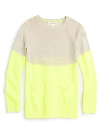 Tucker Tate Colorblock Knit Sweater
