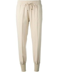 Beige Sweatpants