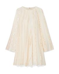 Chloé Ed Silk Chiffon Mini Dress