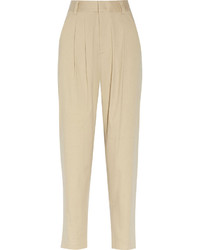 Beige tapered pants original 10582892