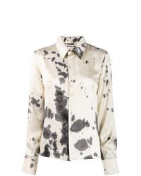 Ottolinger Tie Dye Satin Shirt
