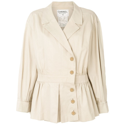 Chanel Vintage 1990 Cropped Trench Coat