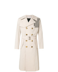 Givenchy Contrasting Pocket Trench Coat