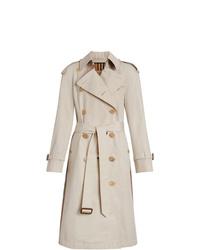 Burberry Heritage Ribbon Cotton Gabardine Trench Coat