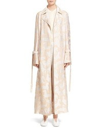 Stella McCartney Kenisa Horse Pattern Belted Trench Coat