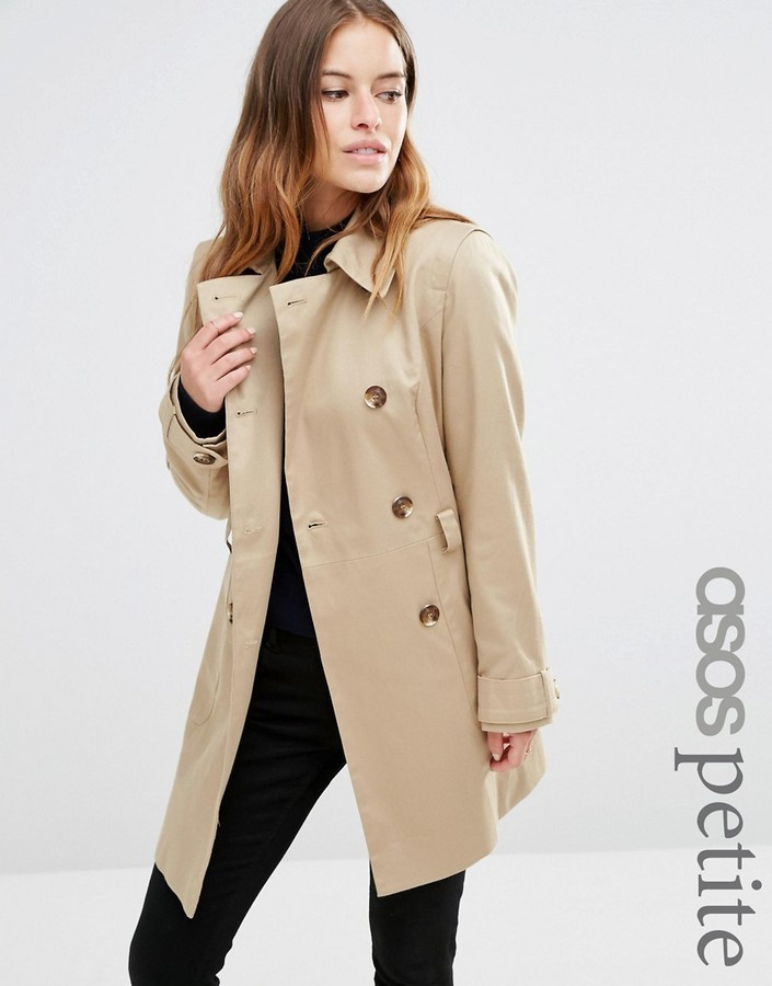 extremely unique great variety models 2019 authentic £65, Asos Petite Petite Classic Trench Coat