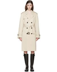 Saint Laurent Tan Trench Coat