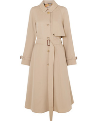 Burberry The Cinderford Wool Gabardine Trench Coat