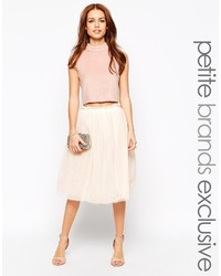 Petite midi tulle skirt medium 230449