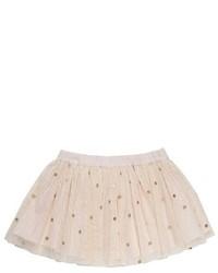 Stella McCartney Kids Honey Polka Dot Tulle Skirt