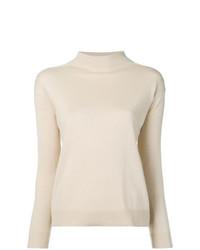 Max Mara Studio Caldeo Mock Neck Sweater