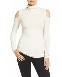 Bailey 44 Troy Cold Shoulder Turtleneck Sweater