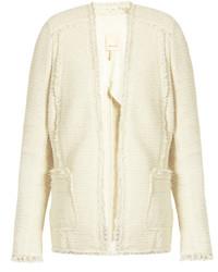 Rebecca Taylor Sparkle Stretch Tweed Blazer