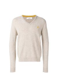 Pringle Of Scotland Melange V Neck Sweater