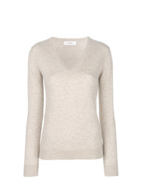 Pringle Of Scotland V Neck Fitted Sweater