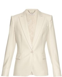 Stella McCartney Ingrid Single Breasted Wool Jacket