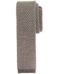 J.Crew Italian Wool Knit Tie In Raindrop