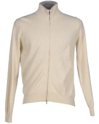 Beige Zip Sweater