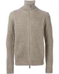 Ribbed knit cardigan medium 335181