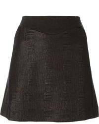 Kenzo Embroidered A Line Skirt