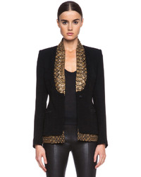 Saint michel poly suiting blazer medium 112502