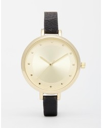 Asos Collection Large Face Dot Dial Watch