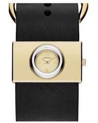 Marc Jacobs Viv Leather Strap Watch 33mm X 19mm