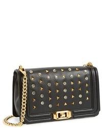 Love crossbody bag with studs medium 126376
