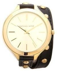 Michael Kors Michl Kors Studded Wrap Watch