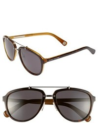 Marc Jacobs 56mm Aviator Sunglasses