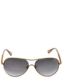 Lanvin Aviator Style Sunglasses