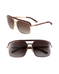 Dior Havane Metal Aviator Sunglasses Gold Copper One Size