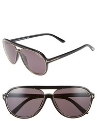 Tom Ford Sergio 60mm Open Bridge Navigator Sunglasses