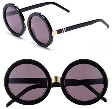 67687a930c ... Wildfox Couture Wildfox Malibu 56mm Round Sunglasses ...