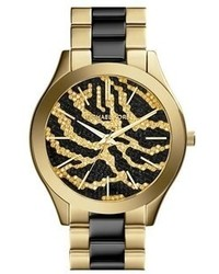 40b68971d4a1 MICHAEL Michael Kors Women s Black and Gold Watches from Nordstrom ...