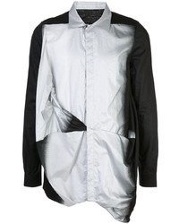 Rick Owens Ruched Sprayed Shirt